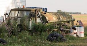 Топливозаправщик Ð bandoned  Стоковая Фотография