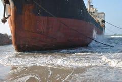 топливозаправщик корабля масла Германии kiel груза канала Стоковое Фото