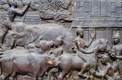Торговать в старом Sukhothai Стоковые Изображения