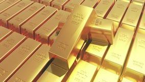 торговать товаров финансов слитка богатства казначейства золота в слитках миллиарда золота 4k роскошный бесплатная иллюстрация