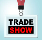 Торговая выставка показывает корпоративные приобретение и дела бесплатная иллюстрация