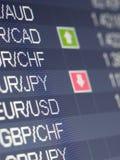 торговая операция валют Стоковые Изображения