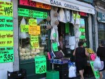 торговая операция улицы магазина porto Стоковое Изображение