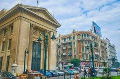 Торговая палата в Александрии, Египте Стоковая Фотография