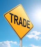 Торговая принципиальная схема. Стоковые Фотографии RF