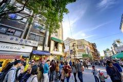 Торговая улица Insadong: Корея стоковая фотография