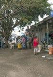 Торговая улица в Arusha Стоковые Фотографии RF
