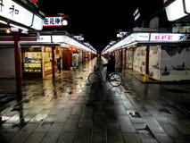Торговая улица ` s Японии Стоковые Фотографии RF