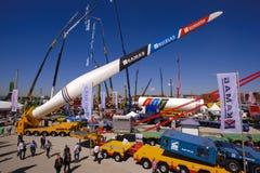 Торговая ярмарка для строя машин Стоковое Изображение RF