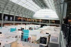 Торговая ярмарка Art15 в Олимпии Лондона Стоковое фото RF