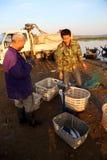 Торговец рыбной ловли Стоковое Изображение
