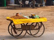 Торговля в городах Индии стоковые фото