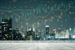 Торговля и концепция запаса стоковое изображение rf