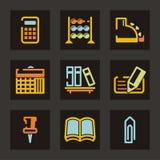 торговля серии иконы Стоковые Фото