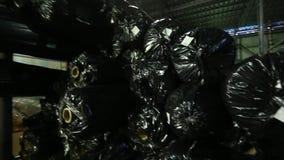 Торговое складирование и грузить крены сетки для торцовки дороги акции видеоматериалы