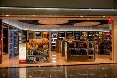 Торговые центры международного аэропорта Taoyuan терминальные безпошлинные Стоковое фото RF