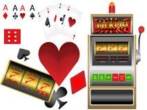Торговый автомат казино Стоковая Фотография