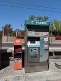 Торговый автомат платы за проезд Стоковое фото RF