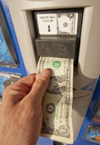 Торговый автомат Стоковое Изображение RF