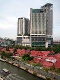 Торговый центр берега стоковое изображение