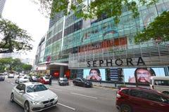 Торговый центр бульвара k стоковые изображения