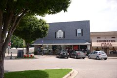 Торговый центр в городском Covington Теннесси Стоковая Фотография RF