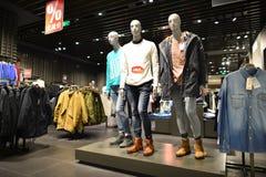 Торговый центр в Шэньчжэне Стоковая Фотография