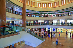 Торговый центр города гавани, Гонконг Стоковые Фотографии RF