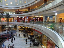Торговый центр города Ghurair Al в Дубай Стоковая Фотография RF