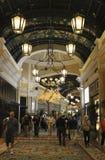 Торговый центр гостиницы Лас-Вегас Bellagio Стоковые Изображения RF