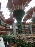 Торговый центр Катара как увидено от внутренности стоковые изображения rf
