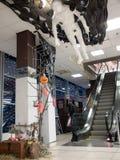 Торговый центр накануне хеллоуина Стоковое фото RF