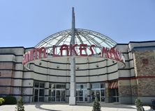 Торговый центр озер Bonita, меридиан, Миссиссипи стоковое фото rf