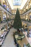 Торговый центр площади больших винных бутылок Амстердама Стоковые Фотографии RF