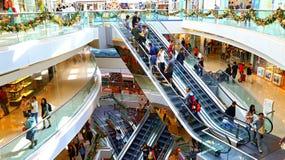 Торговый центр прогулки празднества, Гонконг Стоковая Фотография