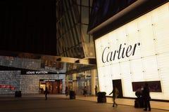 Торговый центр IFC в Шанхае Стоковые Фото