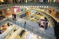Торговый центр NU Sentral Стоковые Изображения