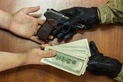 Торговля оружия Стоковые Фото