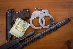 Торговля оружия Стоковое Изображение