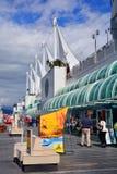 торговля vancouver места конвенции Канады разбивочная Стоковая Фотография RF