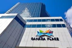 торговля vancouver места конвенции Канады разбивочная Стоковая Фотография