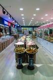 Торгуйте в традиционных восточных специях в одном из магазинов Стоковые Изображения RF