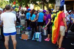 Торжества 19 гей-парада Стоковое Изображение