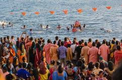 Торжества Ganesha в Baie du Крышке, Маврикии Стоковое Изображение