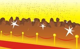 торжественное путя красное Стоковое Фото