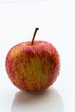 Торжественное яблоко на белой предпосылке Стоковое фото RF