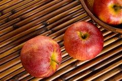Торжественные яблоки Стоковое фото RF