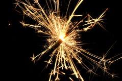 Торжество бенгальского огня жизни Стоковое Изображение
