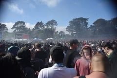 Торжество 420 в Сан-Франциско Калифорнии Стоковая Фотография RF