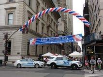 Торжество дня Бастилии в Нью-Йорке, США Стоковые Фотографии RF
